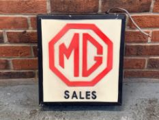 MG Sales Illuminated Light Box