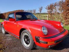 1986 Porsche 911 3.2 Carrera Convertible