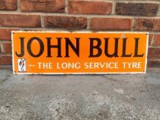 John Bull Tyres Enamel Sign