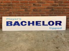 Players Bachelor Tipped Enamel Sign