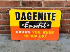 Dagenite 'Easifil' Advertising Sign