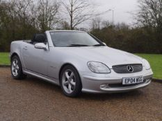 2004 Mercedes SLK 200 34,000 miles from new