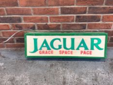 Jaguar 'Grace, Space and Pace' Light Box
