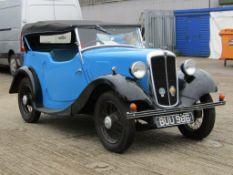 1935 Morris Eight Tourer Series 1