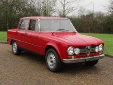 1972 Alfa Romeo Giulia 1300 Super