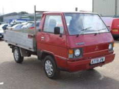 1983 Mitsubishi Flat Bed Truck