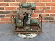 Villiers Engine On A Display Stand