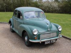 1955 Morris Minor 4dr Saloon Series II
