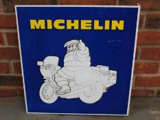 Michelin Aluminium Double Sided Flanged Sign