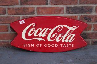 Coca Cola Tin Advertising Sign