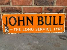 John Bull, The Long Service Tyre Enamel Sign