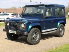 1998 Land Rover Defender 50th Anniversary Original UK supplied