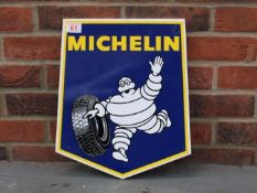 Michelin Tyres New Old Stock Shield Sign