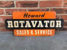 Vintage Howard Rotavator Sales & Service Sign