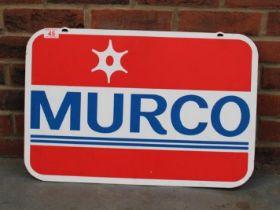 Murco Aluminium Double Sided Sign