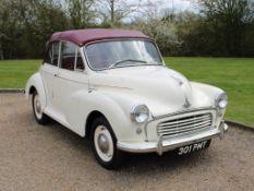 1958 Morris Minor 1000 Convertible