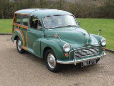 1962 Morris Minor Traveller 1000