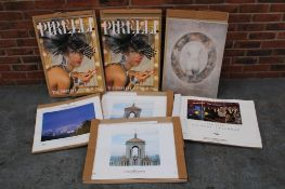 Four Unipart Calendars Together With Three Pirelli Calendars
