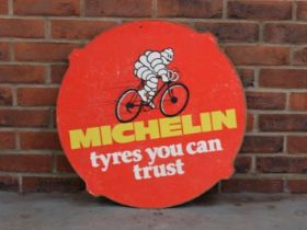 """Michelin Plywood Tyres You Can Trust"""" Sign"""""""