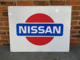 Nissan Perspex Showroom Display Sign