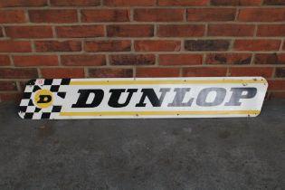 Dunlop Aluminium Advertising Sign