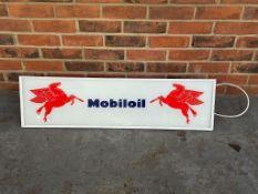 Mobiloil Illuminated Showroom Display Sign