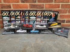 Collection Of 43 James Bond Diecast Models