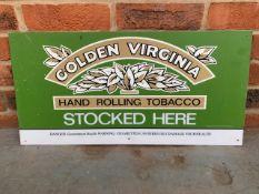 Golden Virginia Perspex Sign