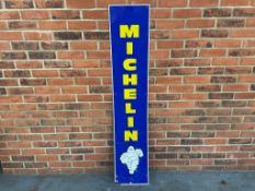 Michelin Vertical Aluminium Sign