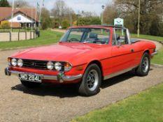 1973 Triumph Stag 3.0 Auto