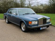 1982 Rolls Royce Silver Spirit 14,666 miles from new
