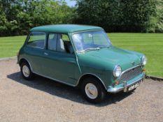 1962 Austin Mini 850 MK I