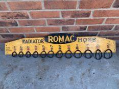 Romac Radiator Hose Display Stand