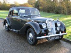 1953 Riley RMF 2.5 Litre Coupe