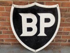 Plastic BP Shield Sign