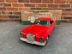 Boxed Model Tin Plate Mercedes 300SE