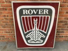 Large Rover Double Sided Illuminated Dealership Sign