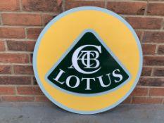 Modern Lotus Print On Board
