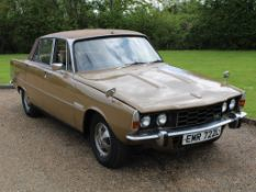 1970 Rover P6 3500 S 1 of 6 development cars
