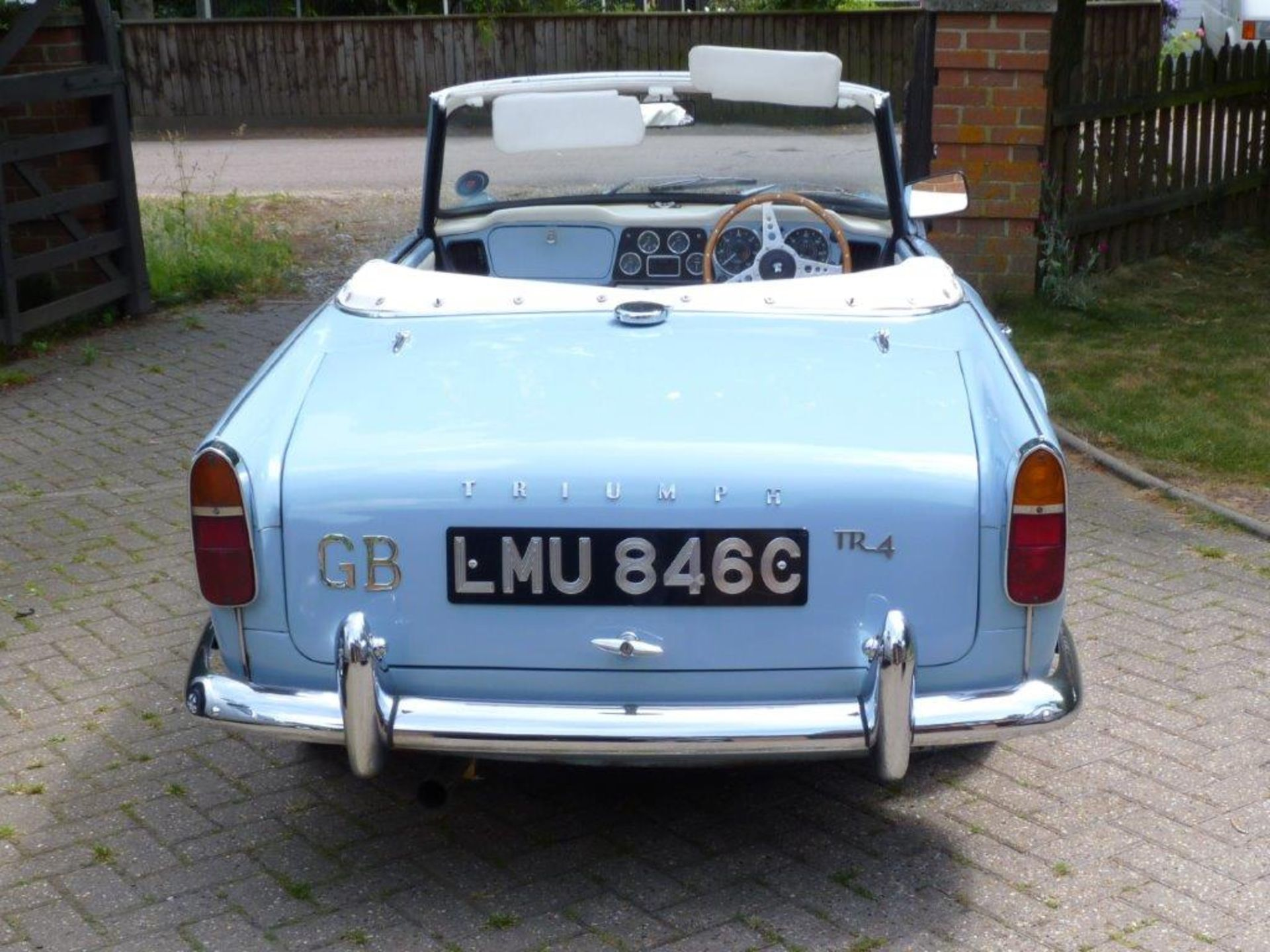 1965 Triumph TR4 - Image 10 of 17
