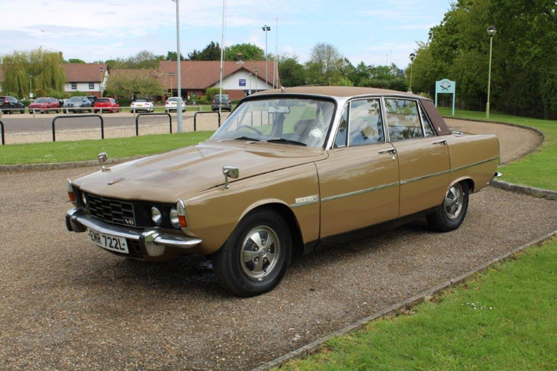 1970 Rover P6 3500 S 1 of 6 development cars - Image 3 of 21