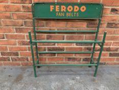 Ferodo Fan Belt Display Stand