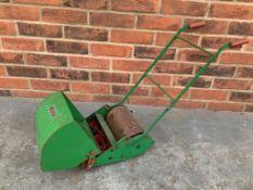 Childs Webb Tin Plate Push Mower