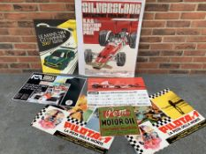 Folder Containing Seven Assorted Motoring Posters