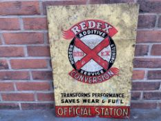 Tin Redex Conversion Official Station Sign