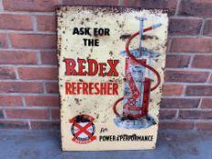 Tin Redex Refresher Sign