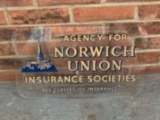 Perspex Norwich Union Insurance Societies Sign