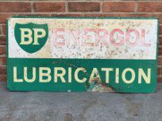 BP Energol Lubrication Tin Sign