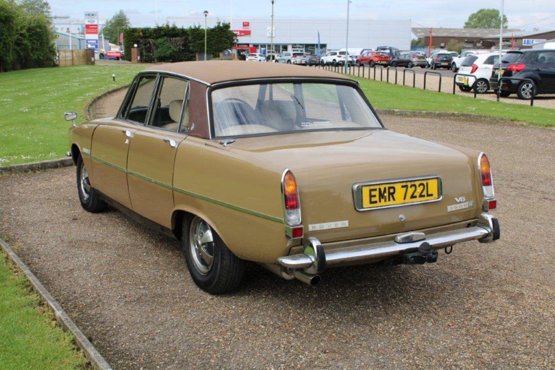 1970 Rover P6 3500 S 1 of 6 development cars - Image 6 of 21