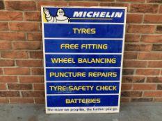 Plastic Michelin Sales Advertising Board